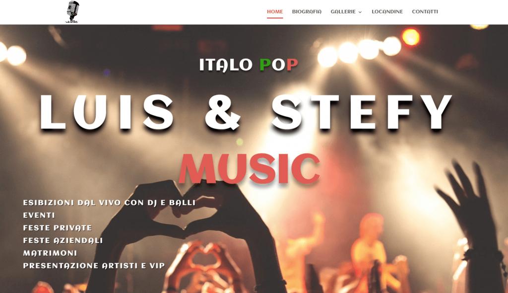 Website Luis & Stefy